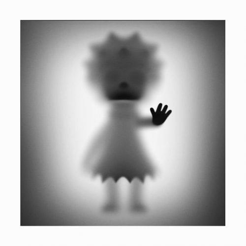Lisa Simpson Pop Art