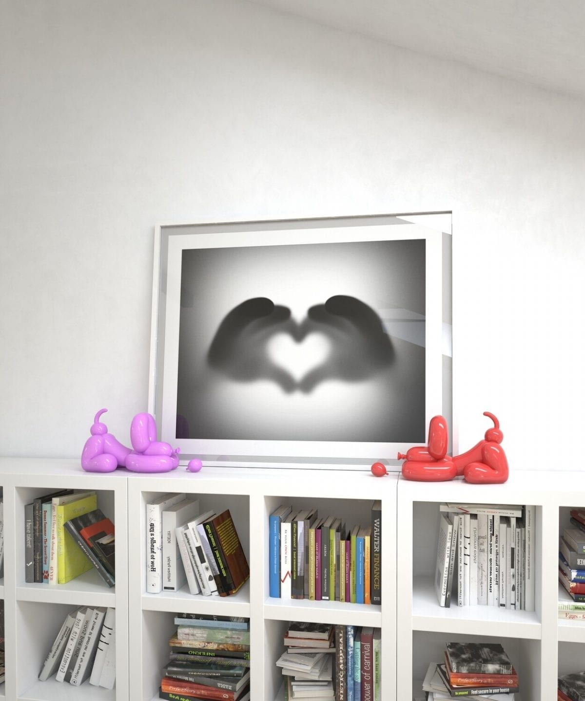 share the love fine art work