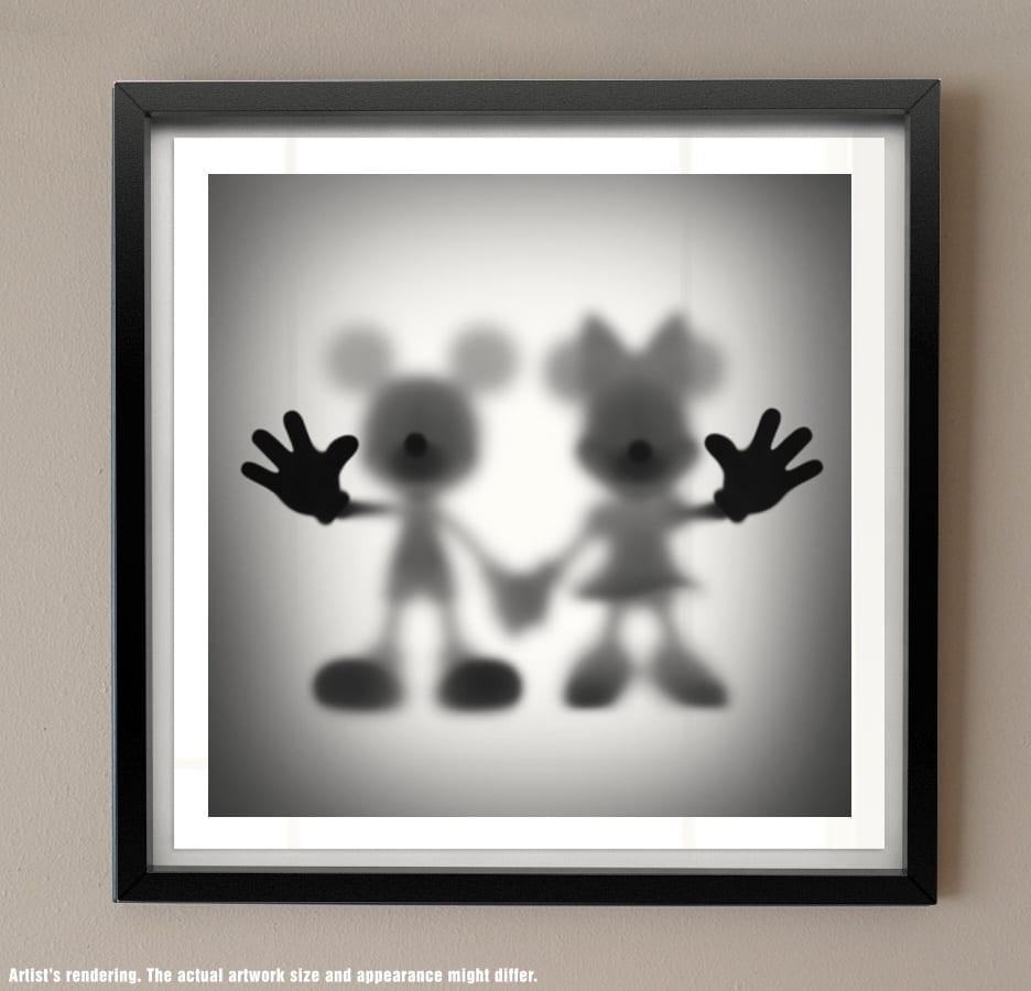 Silhouette print Gone Series Whatshisname